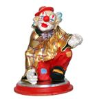 Clown with plinth