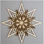 Decoration 5 layers star straight