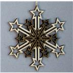 Decoration 3 layers Snowflake