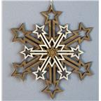 Decoration 5 layers Snowflake